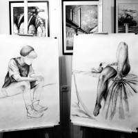 rysunek ołówkiem, rysunek z modelem, kurs rysunku kraków, kurs rysunku wieliczka