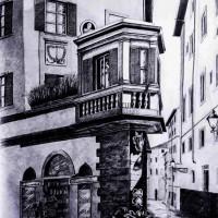 kurs architektoniczny, rysunek ołówkiem, perspektywa, kurs rysunku kubatura, kurs rysunku architektonicznego