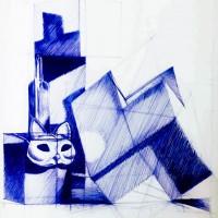 rysunek długopisem, kurs architektoniczny, martwa natura, kurs rysunku kraków, kurs rysunku wieliczka