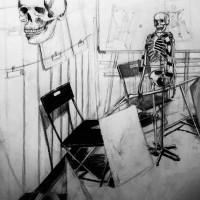 rysunek ołówkiem, kurs architektoniczny, martwa natura, kurs rysunku kraków, kurs rysunku wieliczka