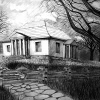 rysunek architektoniczny, rysunek ołówkiem, perspektywa, kurs rysunku kraków, kurs rysunku wieliczka